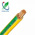 Earth Grounding Round Cable Insulated PVC Copper Wire Flexible Electric Cable