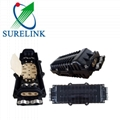 Outdoor Waterproof Two Inlets Outlets Fiber Optic Splice Wnclosure Box