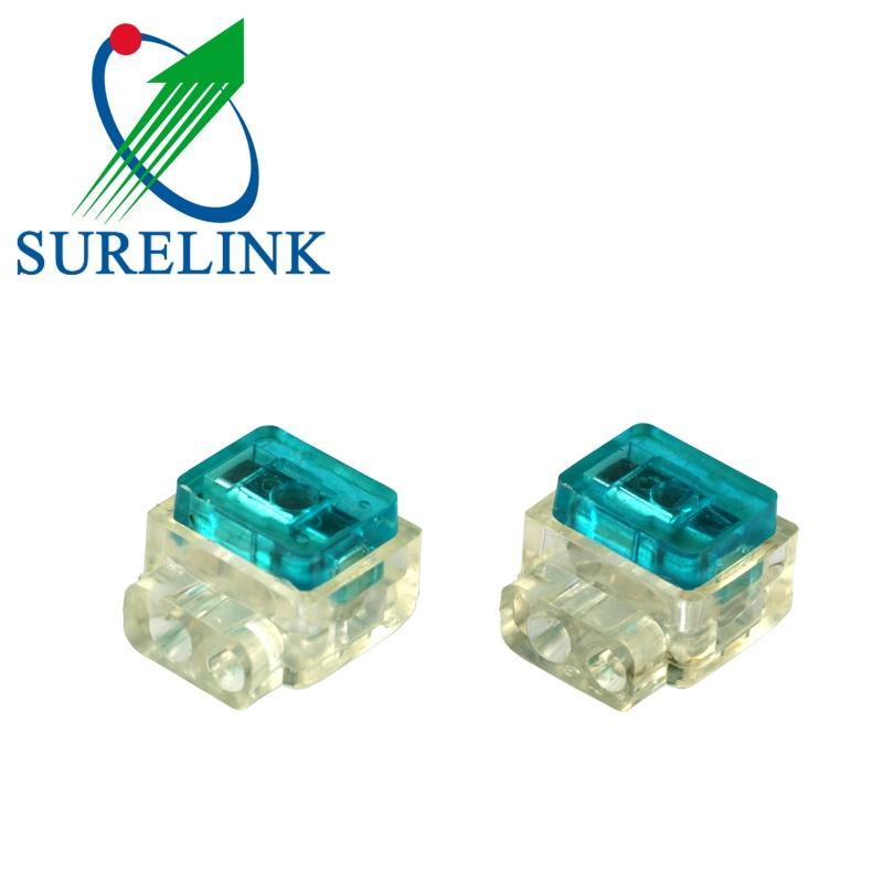 Hjkt4 Ub Terminal Block Connector Bridge Tap Wire Ub Connector K4 for Lock Wire  2