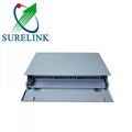 ODF Slidable Rack Mounted 24 Port Patch Panel Slrs48A