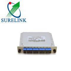 1X8 Card PLC Optical Splitter