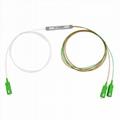 1x8 Micro Optical PLC fiber optic Splitter