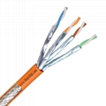 Surelink 4pair double screen LAN Cable Internet Cable FFTP Cat6A SFTP CAT6A