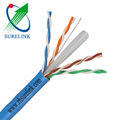 4pair Pure Copper or CCA Ethernet cable Lan cable Category6 FTP CAT6 UTP Cat 6