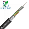 Outdoor Steel Tape Armoured Optical Fiber Cable GYTS GYTA