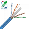 SURELINK 4pair LSZH bare copper lan network cable ethernet cable UTP CAT6 CAT6A