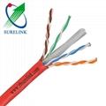 SURELINK 4pair LSZH bare copper lan network cable ethernet cable UTP CAT6 CAT6A