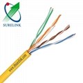 LAN Network Cable Indoor 2pair or 4pair Twisted Cable UTP Cat3 UTP CAT5E