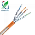 SURELINK Manufacturer high speed Network LAN Cable Duplex Cable Fftp Cat7