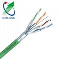 LSZH LAN Cable Pimf Cable fluke test SFTP Cat6a SFTP Cat7 SSTP CAT7 CAT8