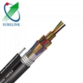 50 100 200 pair HYAT underground jelly filled armored telephone cable