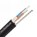 Outdoor Armoured Fiber Optical Cable with FRP Gyftc8a