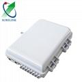 Slotb-0208-D FTTH 8 port Wall Mount Fiber Optic Terminal box Distribution Box