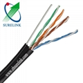 4pair FTP CAT5e with messenger LAN cable Network CABLE