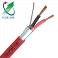 4 Core Shielded Copper Cable Fire Resistance Cable Fire alarm cable