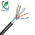 SURELINK Gel Filled or Jelly Filled Outdoor Internet LAN Cable UTP FTP SFTP CAT6