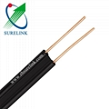 Outdoor Aerial cable 18AWG Copper Cladded Steel Telephone Drop Wire 3