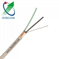 8 pairs Bc or Tc PVC Jacket Pet or Al Poil Shield Telecom 120Ohm PCM Cable