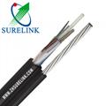 8 12 16 Core Fiber Optic Cable Self Supporting Single Mode Optical Fiber Cable