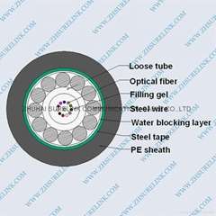 OPTICAL FIBER CABLE GYXTS