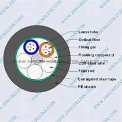 OPTICAL FIBER CABLE GYTS