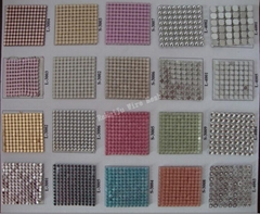 metallic aluminum  cloth