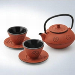 cast iron tea ware