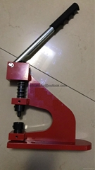 BENCH MOUNT  ATTACHING MACHINE--RED COLOUR HAND PRESS