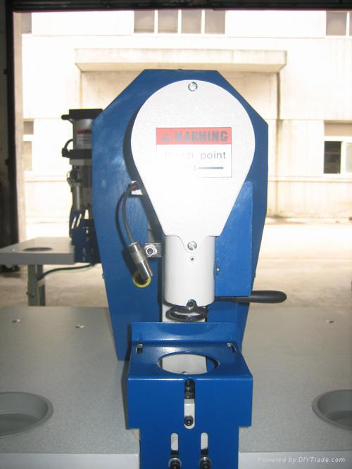 110v semi-automatic grommet(eyelet) attaching machine with manual control set 2