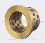 FFZ-5F銅合金鑲嵌自潤滑帶擋邊軸承