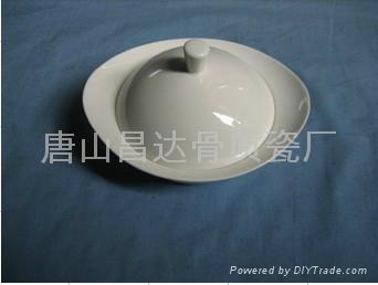 酒店陶瓷餐具-汤盅 1