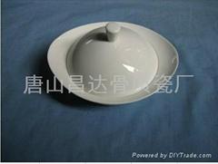 酒店陶瓷餐具-汤盅
