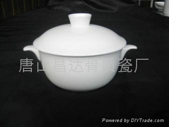 酒店陶瓷餐具-汤盅 3