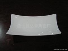竹节毛巾碟