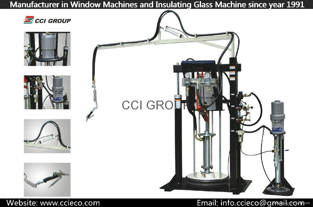 Two Component Silicone Sealant Extruder Machine