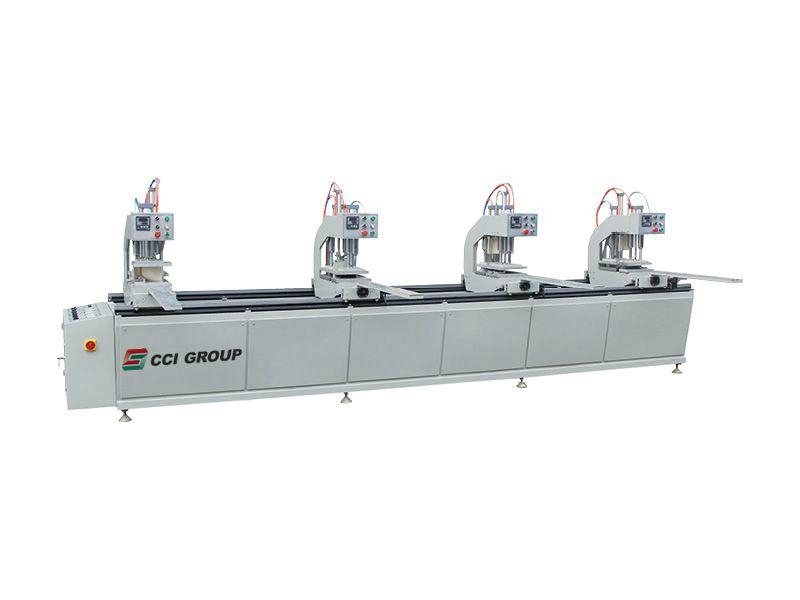 Vinyl Profile Four Head Welding Machine for Window and Door