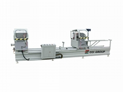 Aluminum Window Door Double Head Cutting Machine