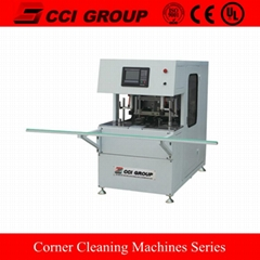 Corner Cleaning Machine with CNC for PVC Door and Window