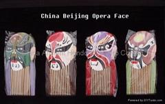 Beijing Opera Face craft Healthful Hair Comb YG001