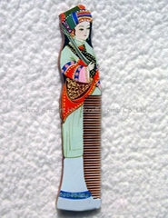 China Ancient Girl Healthful Craft Hair Comb YG010