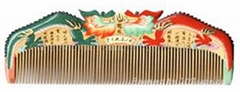 China Double Dragon Healthful Craft Hair Comb YG018