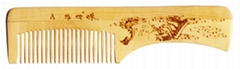 China Mountain Landscape Healthful Craft Hair Comb YG020