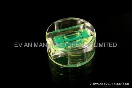 Plastic Block Bubble Spirit Level Vial