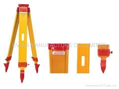 Wooden Tripods for Surveying Instrument