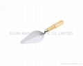 Bricklaying Trowel with Wooden Handle