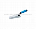 Bricklaying Trowel with Rubber Handle