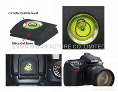 EV-V955 SILICA GEL HOT SHOE CAMERA BUBBLE LEVEL
