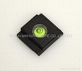 EV-V956 PLASTIC BASE HOT SHOE CAMERA BUBBLE LEVEL