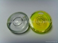 Glass Circular Bubble Level Vial
