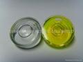 Glass Circular Bubble Level Vial